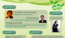 seminar karir 2012